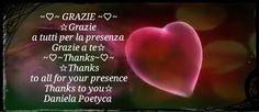 Grazie  Thank you