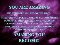 You are amazing :-)