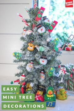 Small spaces can bring big Christmas spirit with mini trees and out-of-the-box ornaments! Decorate your office, bedroom, or anywhere with a miniature tree. Scroll through our Christmas Store and know that the Christmas elves appreciate the small gesture.