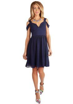 Bonne Jovial Navy Dress | Mod Cloth | Bridesmaids