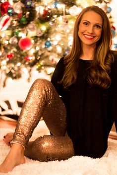 Everyone's favorite sequin leggings at this one time deal price! We love the chic sparkle and shine that these bring to the holiday season. Perfect for any cocktail party, girls night, new year's. We love wearing ours for those dressy events that we just don't want to wear a dress to! Choose from red, navy or gold! Leggings feature individually sewn sequins, a comfortable color coordinating lining and elastic waist! The outfit possibilities are endless and bloggers and pinterst are great…