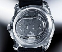 Cartier ID 2 concept watch. No screws just held in by pressure.