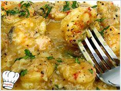 Γαριδες βυθισμενες σε πλουσια πηχτη μουσταρδοσκορδατη πεντανοστιμη σαλτσουλα για ουζοτσιπουροκαταστασεις,ιδανικη και για την νηστεια!!! <strong>Απολαυστε τις...!!!</strong> Greek Recipes, Fish Recipes, Seafood Recipes, Snack Recipes, Cooking Recipes, Healthy Recipes, Cypriot Food, How To Cook Fish, Appetisers