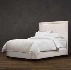 Wallace Upholstered Bed   Upholstered Beds   Restoration Hardware