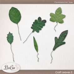 Craft Leaves 2 by #LouCee Creations. #sugarhillco