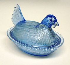 glass chicken ---- I need 1 or 10 of these in my life!