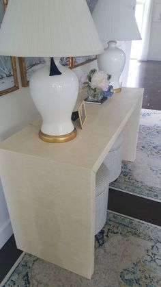Paper Cover, Console Table, Living Rooms, Entryway Tables, Diy Projects, Interior Design, Wallpaper, House, Furniture