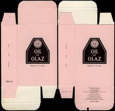 Germany-Europe - Oil of Olay - Oil of Olaz - beauty fluid box - 1980s 1990s by JasonLiebig, via Flickr