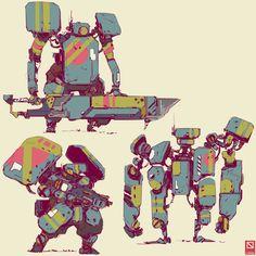 ArtStation - Characters, Gareth Davies