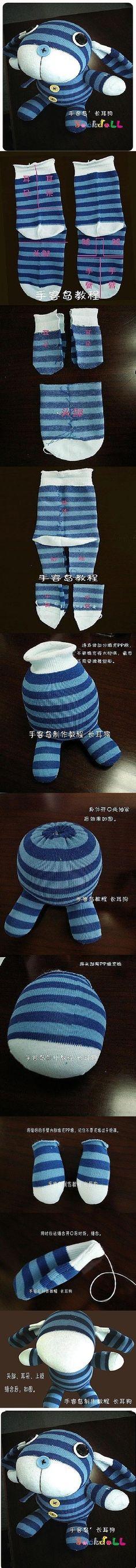 DIY Fantasy Sock Doll DIY Fantasy Sock Doll by diyforever