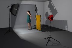 Despite only one light source, multiple reflectors are used