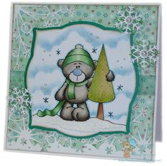 Netty's Cards: Tree hugger