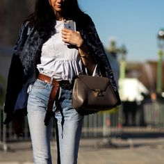 #Paris #PFW #SS16 #Style #Fashion #StreetStyle #fashionweek #Woman #Jeans #Outfit #Gucci #NoFilter #shotbygio