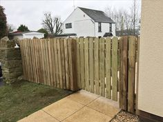 Garden Fencing, Fence, Bristol, Canning, Building, Wood, Garden Fences, Woodwind Instrument, Home Canning