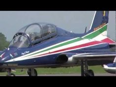 """Maj. Pil. Jan Slagen is the leader of Frecce Tricolori and his callsign is """"Pony 1"""" like the number on the tail of his Aermacchi MB339A/PAN.   He lead the formation flight trought the aerobatic sequence. He lead the first section of five aircreaft.   He comes from 13th Sqn of 32nd Wing and he is qualified on SF260, T37, T38, AMX and MB339.  Total flying hours: 2,800"""