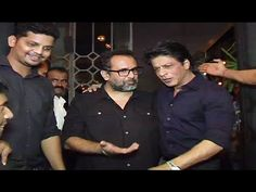 WATCH King Khan Shahrukh at Director Anand L. Rai's Birthday Party 2016. See the full video at : https://youtu.be/4-XzFYN95PI #shahrukhkhan