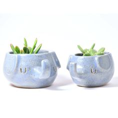 elephant stoneware ceramic plant pot by design forest | notonthehighstreet.com