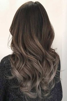 40 Sassy Looks With Ash Brown Hair, , Hair Beauty, Dark Ash Brown Hair, Brown Ombre Hair, Brown Hair With Highlights, Ombre Hair Color, Hair Color Balayage, Medium Ash Brown Hair, Ash Brown Hair Balayage, Dark Ombre, Ash Hair