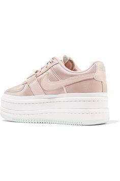 official photos 1d0dc 8773c Nike   Vandal 2K faux leather-trimmed metallic faille platform sneakers    NET-A