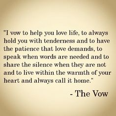 alive & living - The Vow