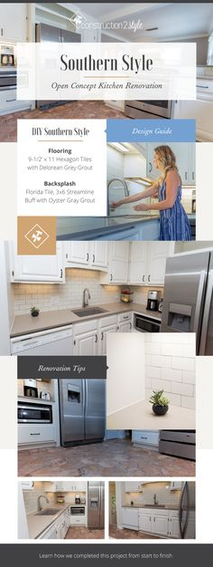 1000 images about subway backsplash on pinterest white for Southern style kitchen design