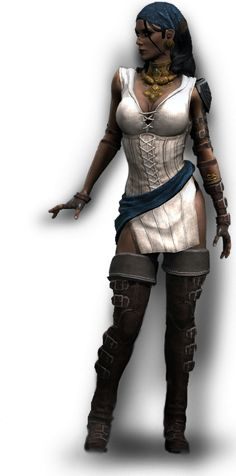 Isabela from Dragon Age 2. I'm making this costume for Comic Con 2012.