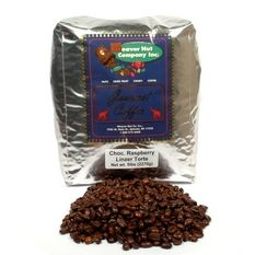 Chocolate without all the calories - Chocolate Raspberry Linzer Whole Bean Coffee