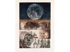 Illusion and Reality: Prints by Jiří Anderle - Cincinnati Art Museum Museum Shop, Art Museum, Cincinnati Art, Eden Park, Art Fund, Good And Evil, Vanitas, Footprint