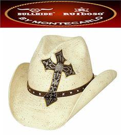 Montecarlo Bullhide Hats-Too Cool-Shantung Panama Straw-Cowboy Western -Natural 699c8c5a78a2