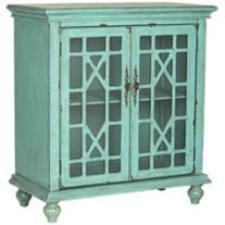 Melilla 2-Door Bayberry Blue Cabinet