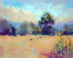 Amber Fields by Trisha Adams Oil ~ 24 x 30