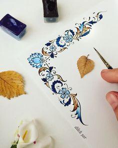 Ebruli - Pin to Pin Ceramic Painting, Fabric Painting, Islamic Art Pattern, Illumination Art, Persian Pattern, Turkish Art, Arabic Art, Islamic Art Calligraphy, Motif Floral