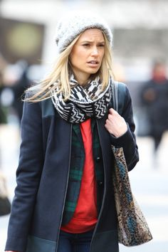 winter style, layers