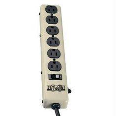 Tripp Lite Tripp Lite Waber Power Strip Metal 5-15r 6 Outlet 5-15p 6ft Cord