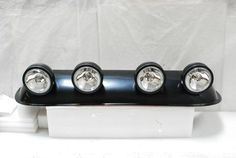 SUV/TRUCK OFF ROAD ROOF TOP FOG LIGHTS+WIRING+SWITCH | eBay