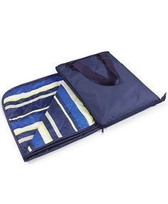 Picnic Time Vista Outdoor Blanket Tote