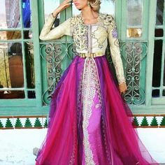 Moroccan caftan .. Dress style
