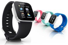 Sony SmartWatch - love that it works wirelessly with androids
