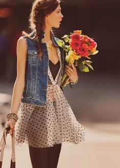 Denim And Polka Dots - Click for More...