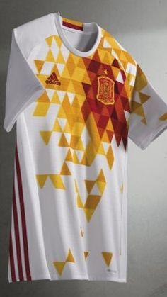 Spain UEFA Euro 2016 Adidas Away Jersey bd2dcf742
