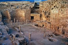 Another view from inside King Herod's mountain palace (Herodium) walls..