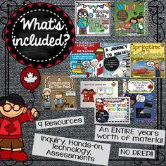 Alberta Grade 2 Social Studies Bundle - ALL UNITS Canadian Social Studies, Teaching Social Studies, Grade 2, Projects To Try, Study, The Unit, School, Studio, Second Grade