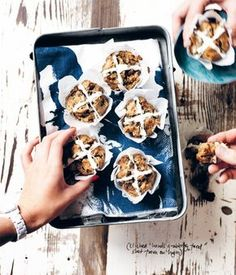 To show you that even a holiday such as Easter can be enjoyable without sugar, give Sarah Wilson's sugar free hot cross buns, or rather muffins, a go.