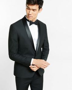 fbfaed6ffbe Shop for skinny innovator shadow check tuxedo blazer by Express at  ShopStyle.