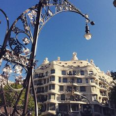 Lamps at Passeig de Gràcia, Barcelona, Spain
