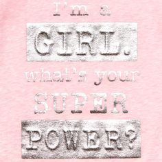 Toddler Girls Short Cuffed Sleeve Foil 'I'm A Girl What's Your Super Power?' Graphic Top | The Children's Place