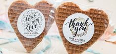 Waffly Love from Gourmet Wedding Gifts on Etsy Free Wedding, Perfect Wedding, Wedding Party Favors, Wedding Gifts, Cake Trends, Guest Gifts, Succulent Pots, Ceremony Decorations, Wedding Details