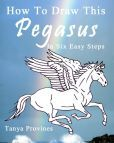 How To Draw This Pegasus In Six Easy Steps