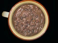 extra chocolatey teff porridge