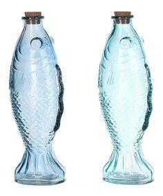 Fish Bottle Set by GANZ #zulilyfinds